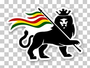 Rastafari Lion Of Judah Logo Jah Zion PNG