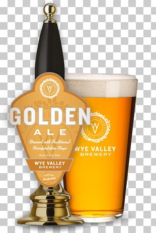 Wheat Beer India Pale Ale Wye Valley Brewery PNG