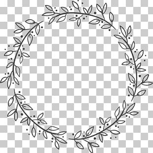 Euclidean Leaf Wreath Flower PNG