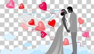 Marriage Wedding Bride Boyfriend PNG