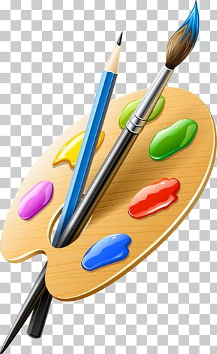 Palette Paintbrush Artist PNG