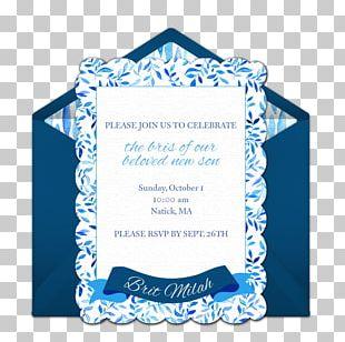 Wedding Invitation Brit Milah Judaism Infant Enrique PNG