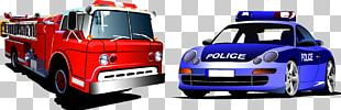 Firefighter Fire Engine PNG