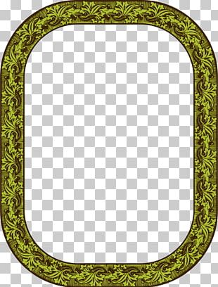 Frames Oval Font PNG