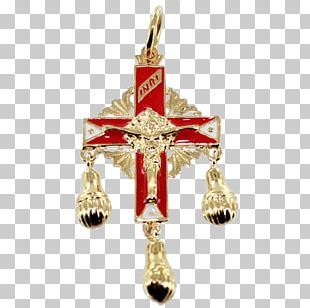Crucifix Christmas Ornament Body Jewellery Charms & Pendants PNG