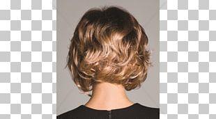 Layered Hair Wig Bob Cut Hairstyle PNG