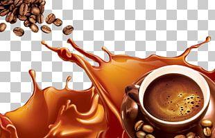 Coffee Cafe Espresso Cappuccino Caffè Mocha PNG