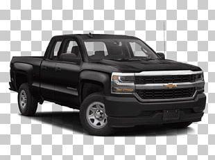 General Motors 2018 Chevrolet Silverado 1500 Double Cab Pickup Truck Four-wheel Drive PNG
