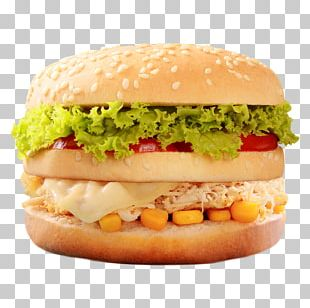 Cheeseburger Hamburger Whopper McDonald's Big Mac Breakfast Sandwich PNG