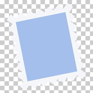 Electric Blue Square Angle Brand PNG