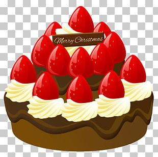 Fruitcake Pâtisserie Chocolate Cake Christmas Cake PNG