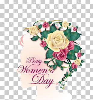 International Womens Day Poster Woman Graphic Design PNG