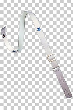 Strap Blue Leather Metal Red PNG