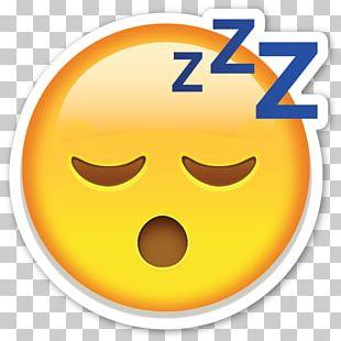 Emoji Sleep Sticker Emoticon Kaomoji PNG
