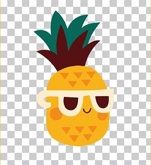 Pineapple Cuteness PNG