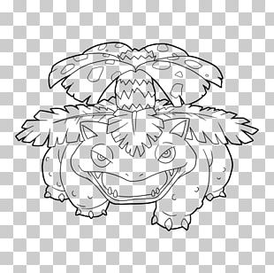 Line Art Venusaur Drawing Pokémon GO Bulbasaur PNG