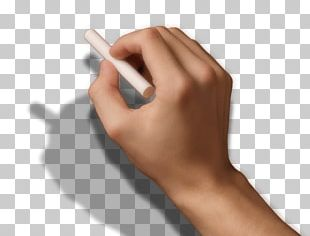 Chalk Hand Finger Stock Photography PNG
