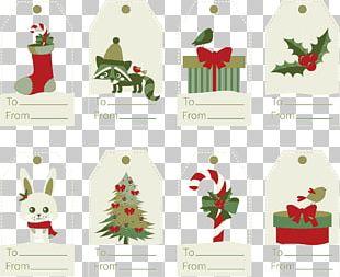 Christmas Tree Santa Claus Gift Christmas Ornament PNG