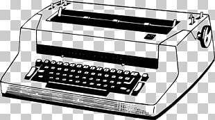 Typewriter Printer Electronics PNG
