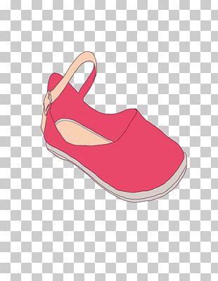 Pink Sandal Shoe PNG