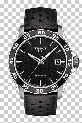Tissot Automatic Watch Strap Water Resistant Mark PNG