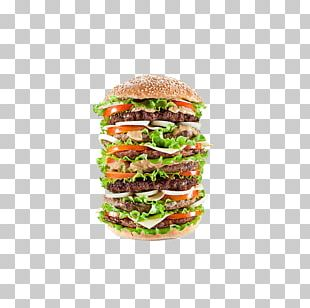 Hamburger Cheeseburger McDonald's Big Mac French Fries Bacon PNG
