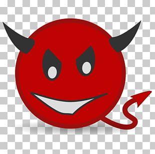 Devil Demon Smiley Satan PNG