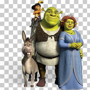 Shrek The Musical Princess Fiona Donkey Puss In Boots PNG