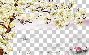 Euclidean Wall Painting PNG