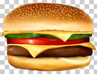 Hamburger Hot Dog French Fries Cheeseburger Fast Food PNG
