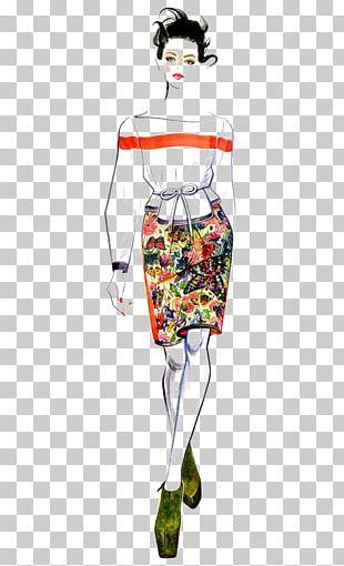 Fashion Illustration Drawing Watercolor Painting Illustration PNG