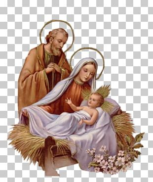 Holy Family Christmas Nativity Of Jesus Nativity Scene PNG