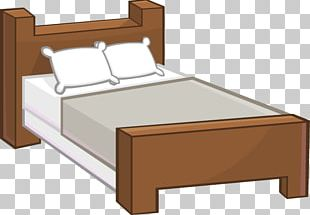 Bed Frame Mattress Platform Bed Couch PNG