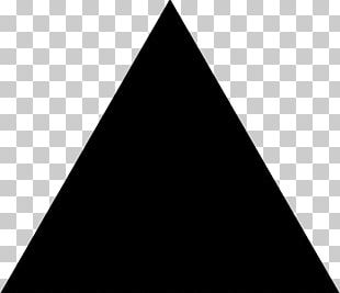 Black Triangle Computer Icons Symbol Arrow PNG