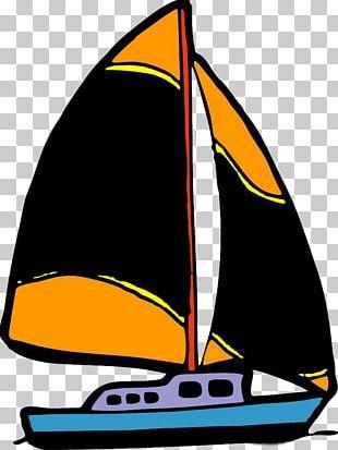 Sailing Ship Cartoon Drawing PNG
