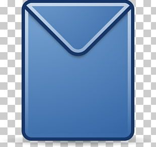 Envelope Mail Letter Blue PNG