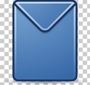 Envelope Mail Letter Blue PNG