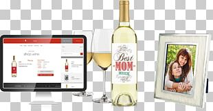 Liqueur Champagne White Wine Glass Bottle PNG