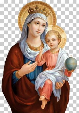 Veneration Of Mary In The Catholic Church Child Jesus Queen Of Heaven Icon PNG