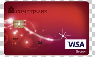 Visa Electron Bank Credit Card Debit Card PNG