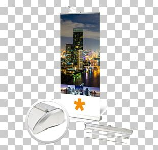 Display Advertising Roll-up Banner Web Banner PNG