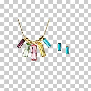 Earring Necklace Jewellery Chain Pendant PNG