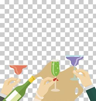 Champagne Toast Euclidean PNG