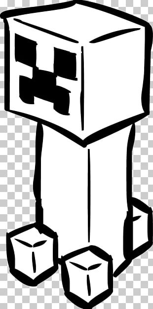 Minecraft Creeper Coloring Book Christmas PNG, Clipart ...
