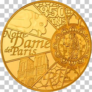 Notre-Dame De Paris Coin World Heritage Centre Gold Cathedral PNG