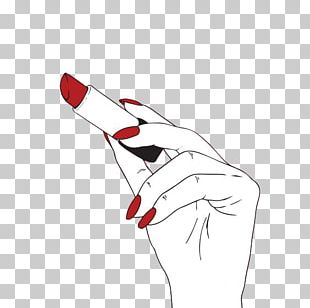 Harley Quinn Lipstick Cosmetics Red PNG