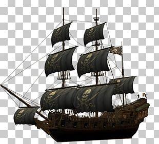 Piracy Ship Navio Pirata Boat PNG