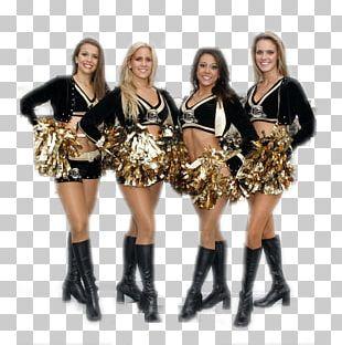 New Orleans Saints Cheerleading Uniforms Super Bowl PNG