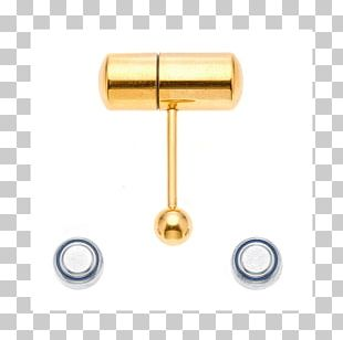 Tongue Piercing Barbell Surgical Stainless Steel Body Piercing PNG