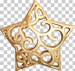 Gold Euclidean Pentagram Five-pointed Star PNG